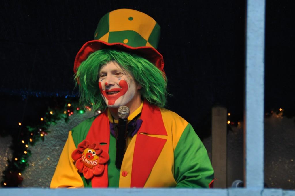 Clown Pippy bei der Clown Pippy Kinderzaubershow auf der Zeche Zollverein in Essen