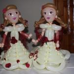 Prinzesinnen als Ballonfiguren für eine Hochzeit in Düsseldorf